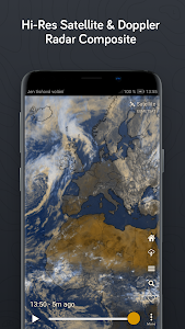 screenshot of Windy.com - Weather Radar, Satellite and Forecast version 22.0307
