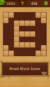 screenshot of Wood Block Puzzle version 2.4.6