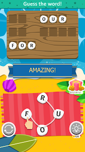 screenshot of Word Weekend - Connect Letters Game version 1.1.1