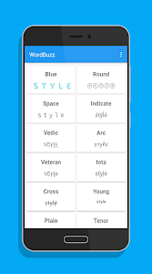 screenshot of WordBuzz : Emoji Writer \u270d\ud83d\udd25 version 1.4