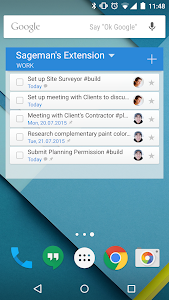 screenshot of Wunderlist: To-Do List & Tasks version Varies with device