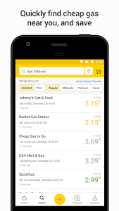 screenshot of YP - The Real Yellow Pages version 6.6.1