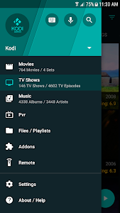 screenshot of Yatse: Kodi remote control and cast version Varies with device