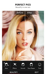 screenshot of YouCam Perfect - Best Selfie Camera & Photo Editor version Varies with device