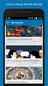 screenshot of EdX - Online Courses version 2.9.2