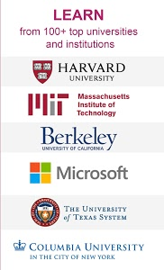 screenshot of edX - Online Courses by Harvard, MIT, & more version 2.14.0