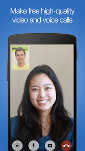screenshot of imo free HD video calls and chat version 9.8.000000010705