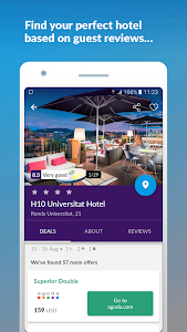 screenshot of Cheap Flights & Hotels momondo version Varies with device