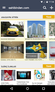 screenshot of sahibinden.com version 3.3.1