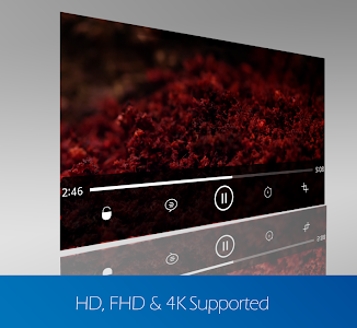 screenshot of video player for android version 2.0.0